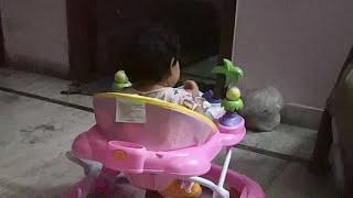 Ekam On A Walker Baby