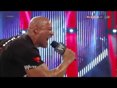 if you smell what the rock is cooking - RAW 1000