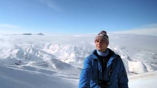 Head in the clouds Palandoken Erzurum Turkey Ski