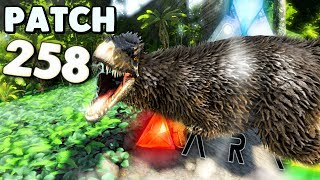 ARK Survival Evolved - ARK PATCH 258, YUTY + ALL DINOS PREVIEW, SPEED BOAT & NEED TO KNOW - Gameplay