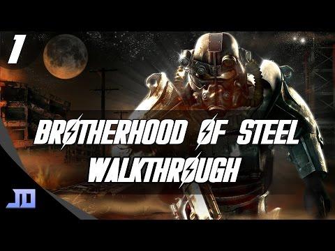 Fallout 4 - Brotherhood Of Steel Walkthrough / Guide - Part 1