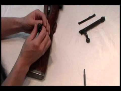 German K98 Mauser Bolt Disassembly