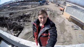 Генчик руфер. Камень весом 160 кг! Что нового в парке Краснодар?