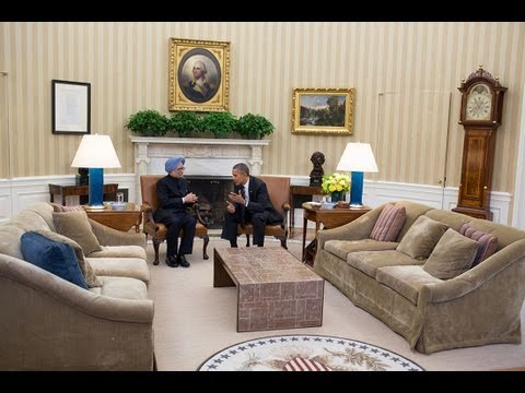President Obama's Bilateral Meeting with Prime Minister Singh of India