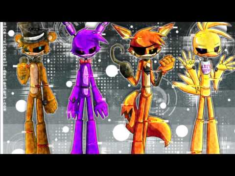 Nightcore five nights at freddy s song youtube