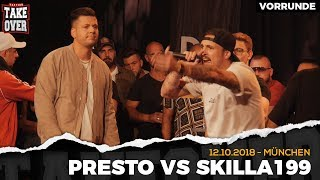 Presto vs. Skilla199 - Takeover Freestyle Contest | München 12.10.18 (VR 2/4)