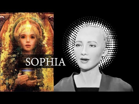 Two AI robots Sophia & Han debate the future of humanity  - Rise 2017
