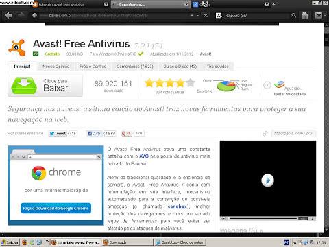 Como baixar o avast free antivirus gratuito