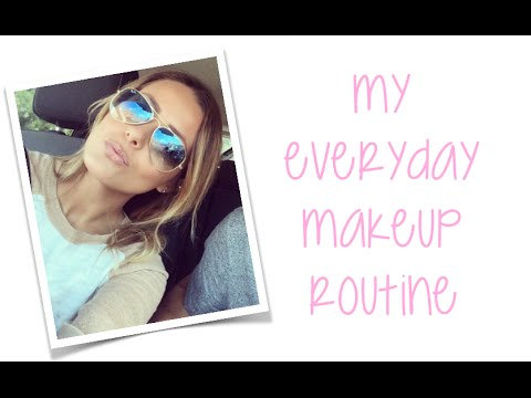 MY EVERYDAY MAKEUP ROUTINE! FT. MY EASY CONTOURING ROUTINE