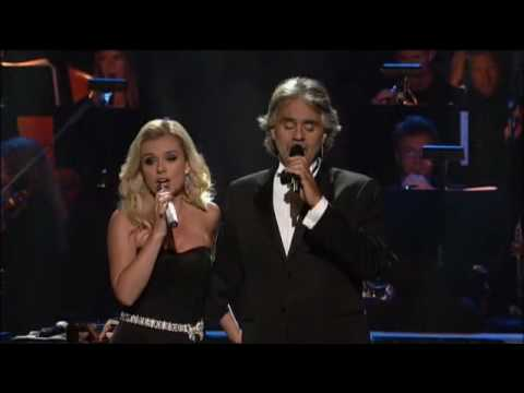 Andrea Bocelli and Katherine Jenkins - I believe