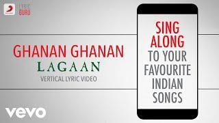 Download Ghanan Ghanan  LagaanOfficial Bollywood LyricsShankar MahadevanAlka YagnikARRahman