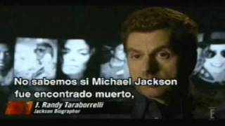 Los últimos días de Michael Jackson Parte 4. E! Entertainment Television