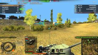 World Of Tanks командный бой
