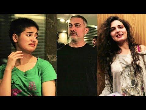 Aamir Khan Being REAL HAANIKAARAK BAPU To Fatima, Zaira, Sanya, Suhani | Behind The Scenes Of DANGAL thumbnail