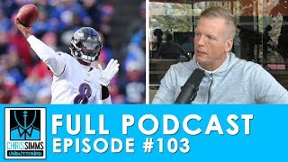 Lamar breaks Bills' blueprint, Simms' Trust Tree | Chris Simms Unbuttoned (Ep. 103 FULL)