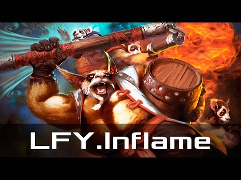 LFY.Inflame — Brewmaster, Offlane (Sep 3, 2018) | Dota 2 patch 7.19 gameplay