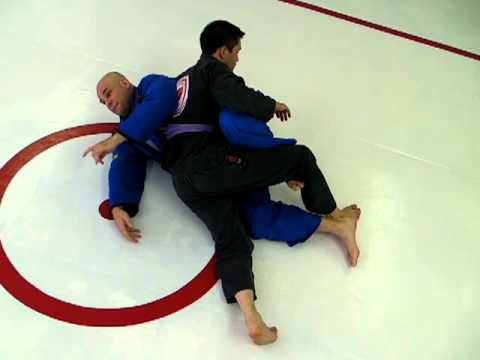 Dedeco Reversed Half Guard Sweep to Back Control - Jiu-Jitsu Half Guard Sweep Image 1