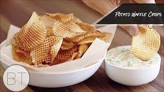 Potato Waffle Crisps