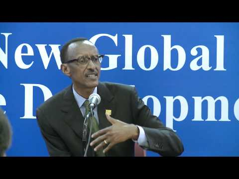 President Kagame speaks to korean and International Press- Busan,South Korea, 30 November 2011