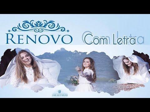 Renovo (Com Letra / Legendado) Sarah Farias 2017 Lançamento(Playback Link Descrição) CD RENOVO Clipe