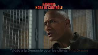 Musique pub Rampage - Hors de contrôle