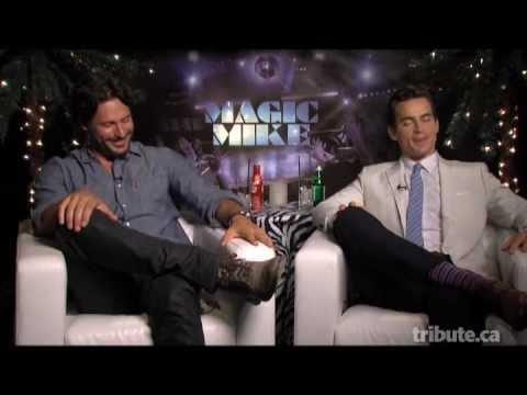 Joe Manganiello & Matt Bomer - Magic Mike Interview with Tribute