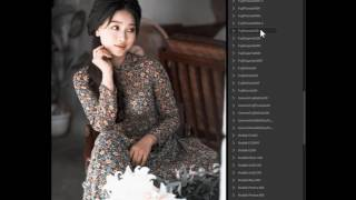Video review All Color of Ps Film Simulation on Photoshop CC