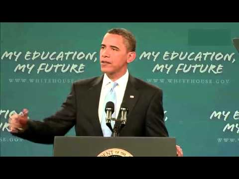 President Obama's Message for America's Student - English subtitles