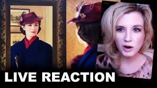 Mary Poppins Returns Teaser Trailer REACTION