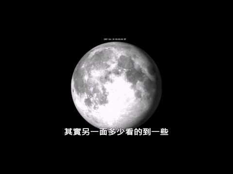 [分鐘物理]為什麼隻看的到月亮的一面?(中文翻譯)