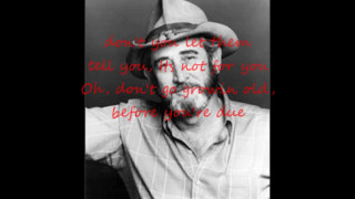 Watch Don Williams Stay Young video