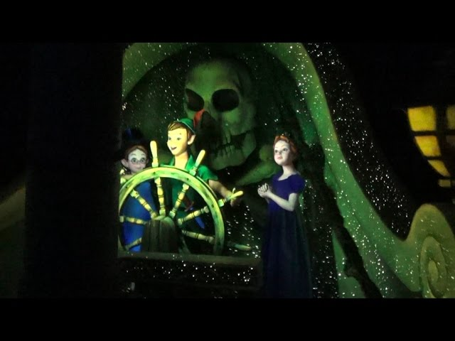 Peter Pan's Flight at Disneyland Paris - Full POV Experience, Multi Angle Compilation, HD