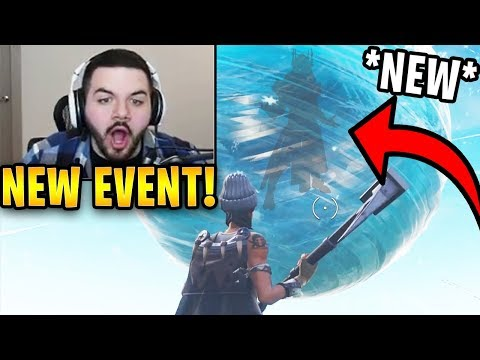 Courage Reacts to *NEW* Ice King Appearing in The Ice Ball! (ICE STORM EVENT) | Fortnite Highlights