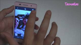 Tecnoellas: review y demo de Huawei Ascend P6 rosa