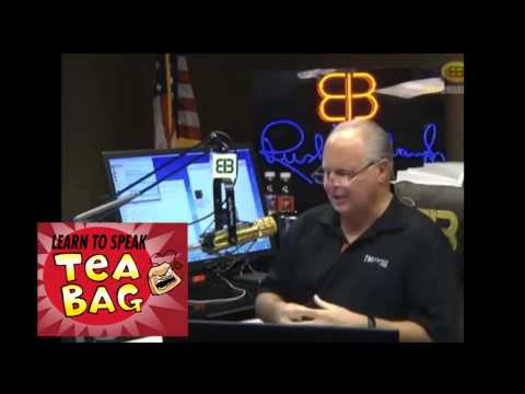 "POS rush limbaugh: ""Uncle Toms for Thad"" - June 27, 2014"