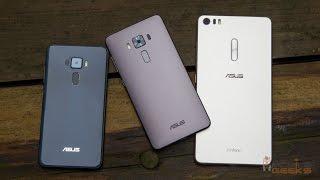 Asus Zenfone 3, Asus Zenfone Deluxe, Asus ZenFone 3 Ultra(ОБЗОР)
