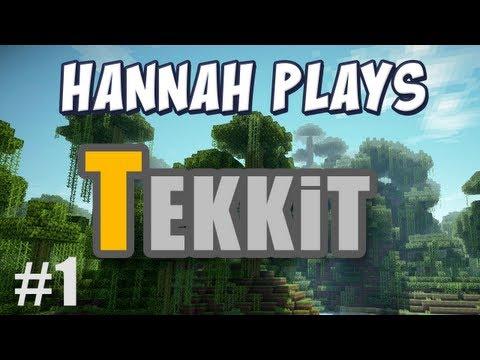 Hannah Plays! - Tekkit - 1. Owl Island & Warehouse