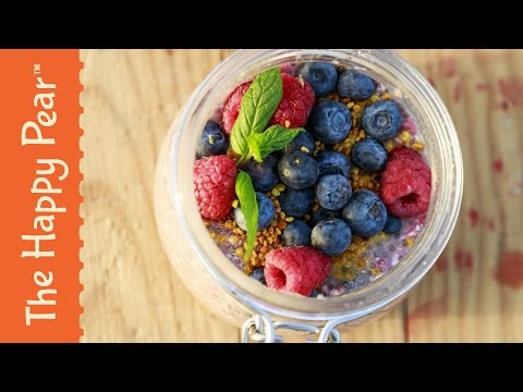 The ultimate Chia Seed Pudding - high in protein and great for recovery