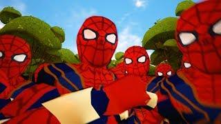 CLONE SPIDER MAN - HELLO NEIGHBOR MOD