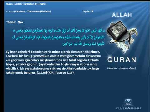 Quran By Theme Turkish   Sex Islam4peace Com video