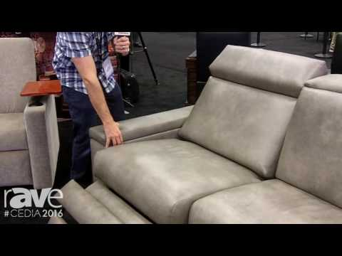 CEDIA 2016: Fortress Seating Showcases Contemporary Sofa with Motorized Headrests