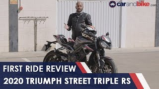2020 Triumph Street Triple RS First Ride Review
