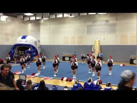 Connetquot HS Varsity Cheer - 1st Place - UCA Empire Regional - Dec 2011