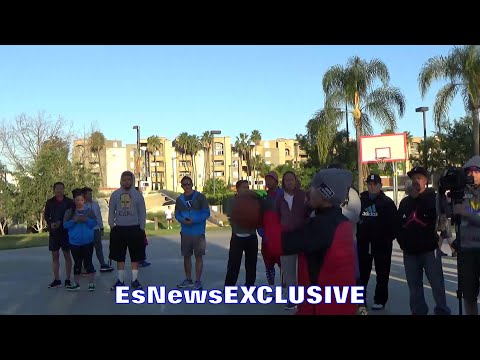 MANNY PACQUIAO KNOWS JUMPER - EsNews EXCLUSIVE
