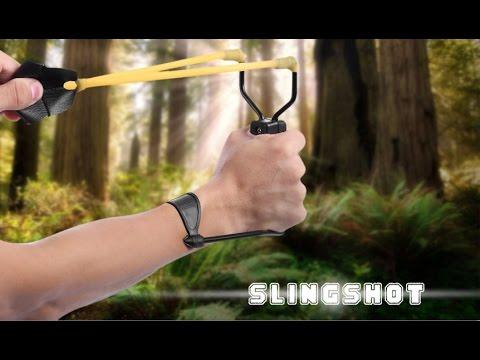 Как сделать мощную рогатку для охоты в 508