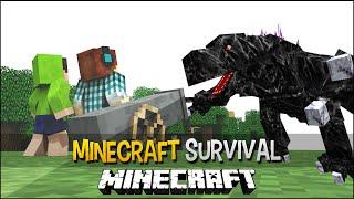 Minecraft Survival Ep.138 - Canhão Para Matar o Mobzilla !!