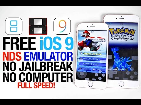How To Get Nintendo DS Emulator on iOS 9 FREE - NDS4iOS NO Jailbreak