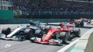 2017 Brazil Grand Prix: Race Highlights