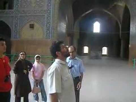 Amazing Mosque in Esfhan Iran
