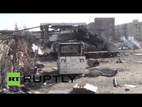 Ukraine: Wasteland! Battles RAGE for Donetsk airport